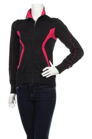 Γυναικεία αθλητική ζακέτα Adidas, Μέγεθος XS, Χρώμα Μαύρο, Τιμή 23,45€