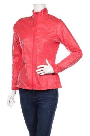 Γυναικείο μπουφάν αθλητικό Adidas, Μέγεθος S, Χρώμα Κόκκινο, Πολυουρεθάνης, πολυεστέρας, Τιμή 67,25€