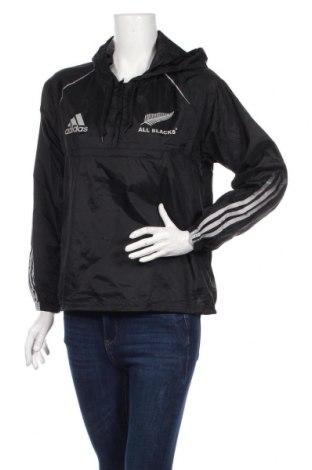 Γυναικείο μπουφάν Adidas, Μέγεθος L, Χρώμα Μαύρο, Πολυαμίδη, Τιμή 41,95€