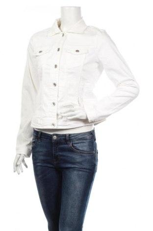 Geacă de femei Tom Tailor, Mărime L, Culoare Alb, 98% bumbac, 2% elastan, Preț 201,18 Lei