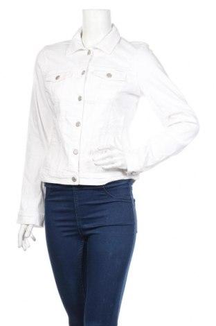 Geacă de femei Tom Tailor, Mărime L, Culoare Alb, 98% bumbac, 2% elastan, Preț 152,24 Lei