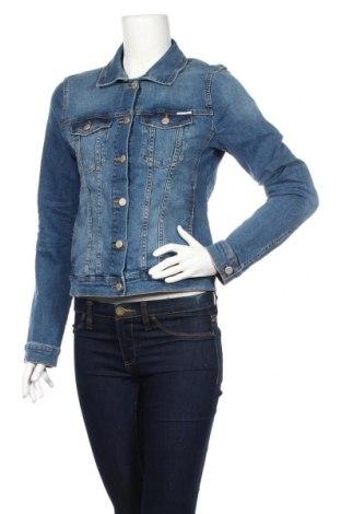 Дамско яке Tom Tailor, Размер M, Цвят Син, 98% памук, 2% еластан, Цена 64,08лв.