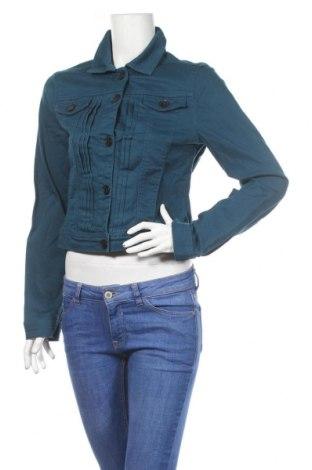 Geacă de femei Tom Tailor, Mărime M, Culoare Albastru, 98% bumbac, 2% elastan, Preț 251,05 Lei