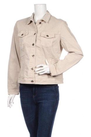 Geacă de femei Tom Tailor, Mărime XL, Culoare Bej, 98% bumbac, 2% elastan, Preț 251,05 Lei