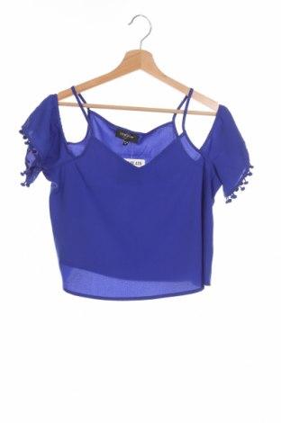 Detská blúzka , Veľkosť 12-13y/ 158-164 cm, Farba Modrá, Polyester, Cena  8,91€