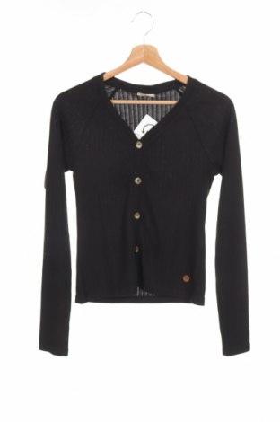 Bluză de copii, Mărime 14-15y/ 168-170 cm, Culoare Negru, 65% poliester, 35% viscoză, Preț 51,99 Lei