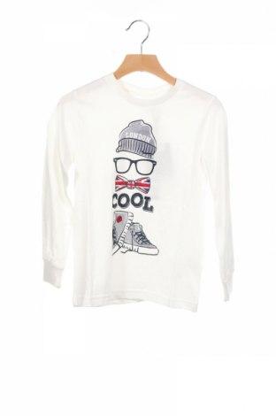 Детска блуза, Размер 4-5y/ 110-116 см, Цвят Бял, Памук, Цена 21,00лв.