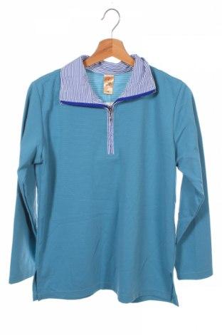 Детска блуза, Размер 12-13y/ 158-164 см, Цвят Зелен, Памук, полиестер, Цена 6,83лв.