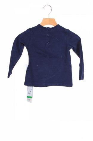 Детска блуза Fagottino By Oviesse, Размер 18-24m/ 86-98 см, Цвят Син, 95% памук, 5% еластан, Цена 28,50лв.