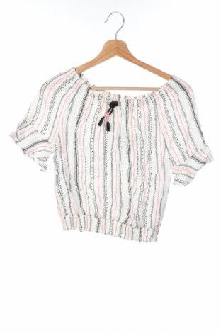 Детска блуза H&M, Размер 12-13y/ 158-164 см, Цвят Бял, Вискоза, Цена 25,50лв.