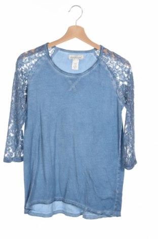 Bluză de copii H&M L.o.g.g, Mărime 15-18y/ 170-176 cm, Culoare Albastru, 100% bumbac, Preț 51,99 Lei
