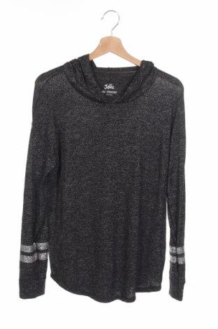 Детска блуза Justice, Размер 15-18y/ 170-176 см, Цвят Сив, 73% вискоза, 22% полиестер, 5% еластан, Цена 3,94лв.
