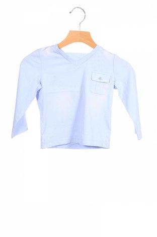 Детска блуза Original Marines, Размер 12-18m/ 80-86 см, Цвят Син, Памук, Цена 11,40лв.