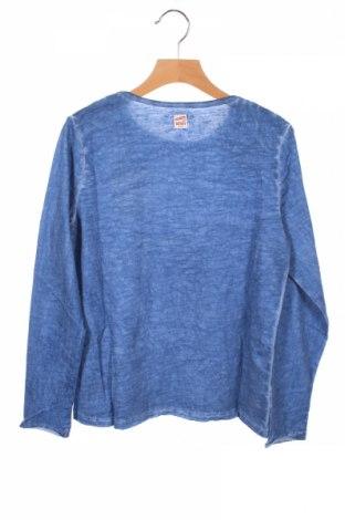 Детска блуза Review, Размер 9-10y/ 140-146 см, Цвят Син, 100% памук, Цена 9,50лв.