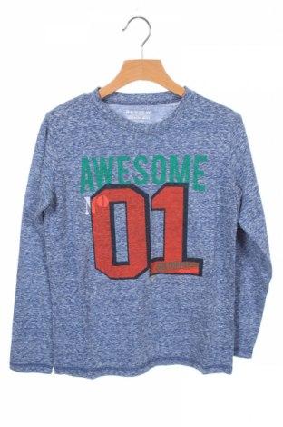 Детска блуза Review, Размер 7-8y/ 128-134 см, Цвят Син, 50% памук, 50% полиестер, Цена 7,20лв.