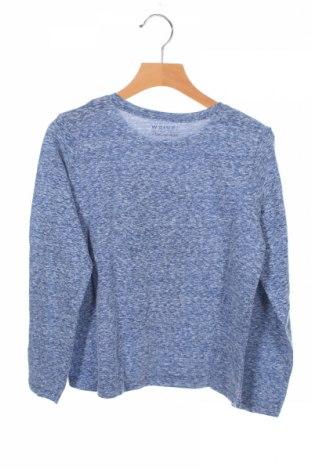Детска блуза Review, Размер 7-8y/ 128-134 см, Цвят Син, 50% памук, 50% полиестер, Цена 8,28лв.