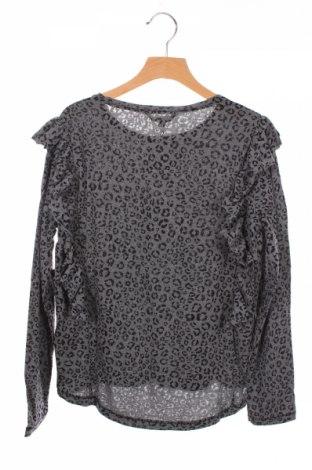 Детска блуза Review, Размер 11-12y/ 152-158 см, Цвят Сив, 50% памук, 50% полиестер, Цена 9,50лв.