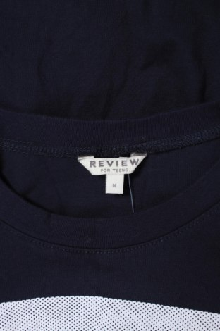 Детска блуза Review, Размер 11-12y/ 152-158 см, Цвят Син, Памук, Цена 27,00лв.