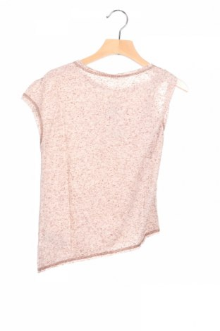 Детска блуза Sisley, Размер 6-7y/ 122-128 см, Цвят Бежов, 80% полиестер, 20% памук, Цена 3,90лв.