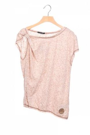 Детска блуза Sisley, Размер 10-11y/ 146-152 см, Цвят Бежов, 80% полиестер, 20% памук, Цена 3,90лв.