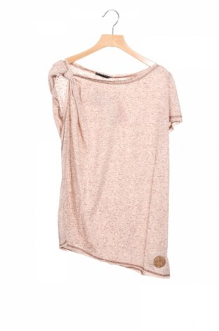 Детска блуза Sisley, Размер 13-14y/ 164-168 см, Цвят Бежов, 80% полиестер, 20% памук, Цена 3,90лв.