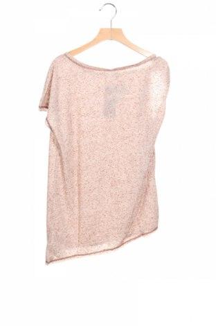 Детска блуза Sisley, Размер 13-14y/ 164-168 см, Цвят Бежов, 80% полиестер, 20% памук, Цена 4,68лв.