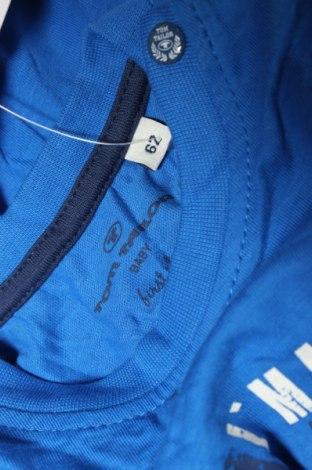 Детска блуза Tom Tailor, Размер 2-3m/ 56-62 см, Цвят Син, Памук, Цена 21,76лв.