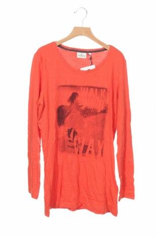 Детска блуза Tom Tailor, Размер 15-18y/ 170-176 см, Цвят Оранжев, Памук, Цена 29,25лв.