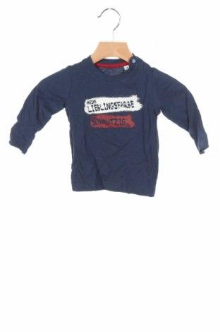 Детска блуза Tom Tailor, Размер 3-6m/ 62-68 см, Цвят Син, Памук, Цена 3,12лв.