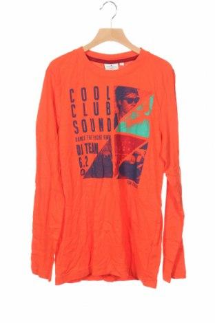 Детска блуза Tom Tailor, Размер 12-13y/ 158-164 см, Цвят Оранжев, Памук, Цена 24,00лв.