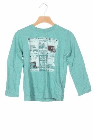 Детска блуза Tom Tailor, Размер 3-4y/ 104-110 см, Цвят Зелен, Памук, Цена 23,40лв.