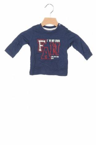 Детска блуза Tom Tailor, Размер 2-3m/ 56-62 см, Цвят Син, Памук, Цена 25,35лв.