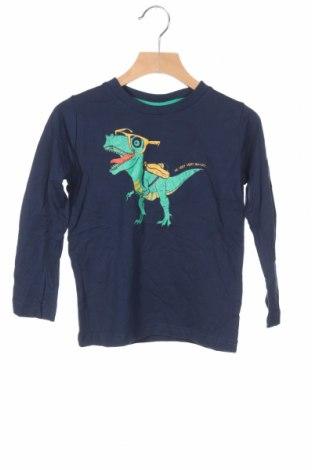 Детска блуза Tom Tailor, Размер 3-4y/ 104-110 см, Цвят Син, Памук, Цена 29,25лв.