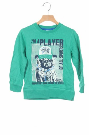 Детска блуза Tom Tailor, Размер 3-4y/ 104-110 см, Цвят Зелен, Памук, Цена 29,25лв.