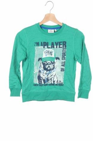 Детска блуза Tom Tailor, Размер 5-6y/ 116-122 см, Цвят Зелен, Памук, Цена 24,00лв.