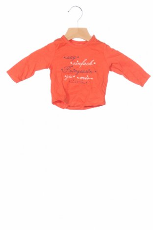 Детска блуза Tom Tailor, Размер 1-2m/ 50-56 см, Цвят Оранжев, Памук, Цена 29,25лв.