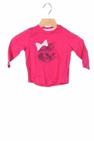 Детска блуза Tom Tailor, Размер 3-6m/ 62-68 см, Цвят Розов, Памук, Цена 24,00лв.