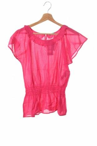 Детска блуза United Colors Of Benetton, Размер 12-13y/ 158-164 см, Цвят Розов, 55% вискоза, 45% памук, Цена 3,24лв.