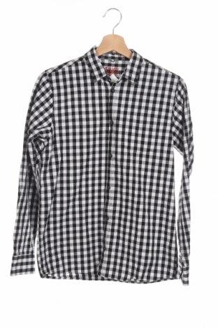 Detská košeľa  Piazza Italia, Veľkosť 13-14y/ 164-168 cm, Farba Čierna, Bavlna, Cena  8,34€