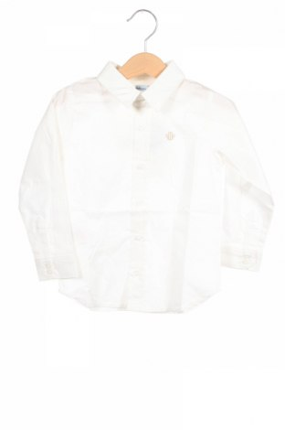 Παιδικό πουκάμισο Tutto Piccolo, Μέγεθος 18-24m/ 86-98 εκ., Χρώμα Λευκό, 98% βαμβάκι, 2% ελαστάνη, Τιμή 11,06€