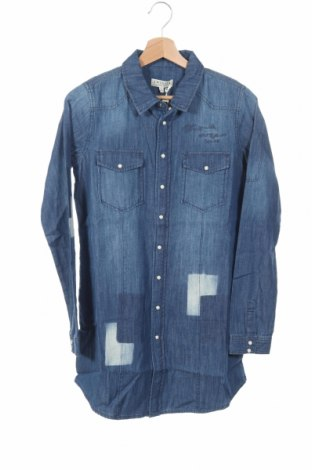 Dětská košile  Twinset, Rozměr 15-18y/ 170-176 cm, Barva Modrá, Bavlna, Cena  630,00Kč