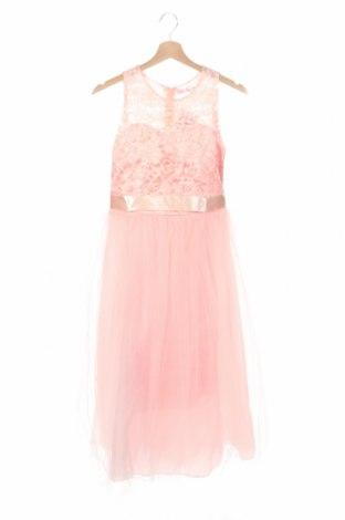 Dětské šaty  Ai Meng, Rozměr 15-18y/ 170-176 cm, Barva Růžová, 65% polyester, 35% bavlna, Cena  812,00Kč