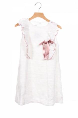 Детска рокля Fina Ejerique, Размер 8-9y/ 134-140 см, Цвят Бял, Памук, Цена 30,16лв.