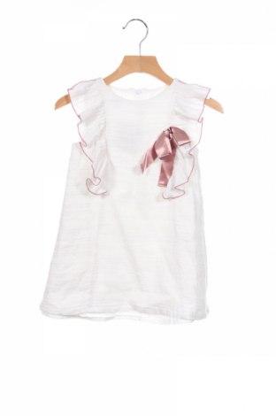 Dziecięca sukienka Fina Ejerique, Rozmiar 4-5y/ 110-116 cm, Kolor Biały, Bawełna, Cena 55,20zł