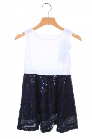 Rochie de copii Friboo, Mărime 2-3y/ 98-104 cm, Culoare Albastru, Bumbac, poliester, elastan, Preț 79,58 Lei