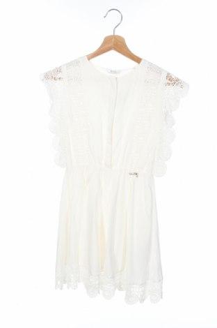 Детска рокля Guess, Размер 10-11y/ 146-152 см, Цвят Бял, Вискоза, Цена 64,08лв.