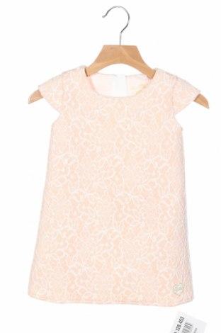 Детска рокля Guess, Размер 12-18m/ 80-86 см, Цвят Розов, 92% полиестер, 8% еластан, Цена 56,88лв.
