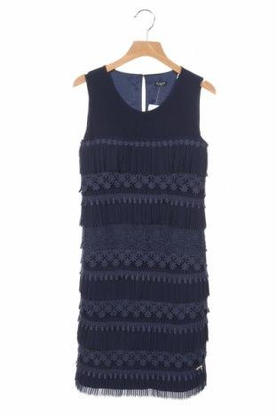 Детска рокля Guess, Размер 12-13y/ 158-164 см, Цвят Син, 98% полиестер, 2% еластан, Цена 56,88лв.