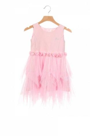 Dziecięca sukienka Guess, Rozmiar 2-3y/ 98-104 cm, Kolor Różowy, Cena 136,25zł