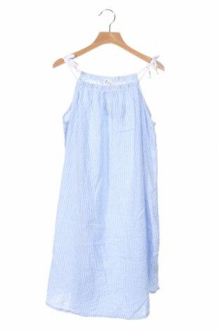 Rochie de copii H&M, Mărime 15-18y/ 170-176 cm, Culoare Albastru, Bumbac, Preț 73,89 Lei